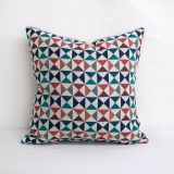 Throw Pillow Made With Sunbrella Array Caribbean 145654-0003