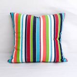 Throw Pillow Made With Sunbrella Carousel Confetti 7774-0000