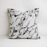 Throw Pillow Made With Sunbrella Marble Quarry 145406-0009