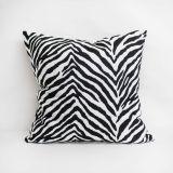 Throw Pillow Made With Sunbrella Namibia Black 145799-0001
