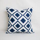 Throw Pillow Made With Sunbrella Savvy Indigo 45889-0007