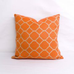 Throw Pillow Made With Sunbrella Accord Koi 45922-0001 - Reversible (Dark Side)