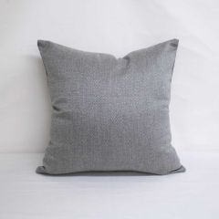 Throw Pillow Made With Sunbrella Action Stone 44285-0002