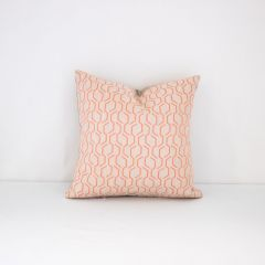Throw Pillow Made With Sunbrella Adaptation Apricot 69010-0003