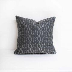 Throw Pillow Made With Sunbrella Adaptation Stone 69010-0002