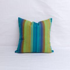 Throw Pillow Made With Sunbrella Astoria Lagoon 56096-0000