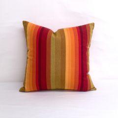 Throw Pillow Made With Sunbrella Astoria Sunset 56095-0000