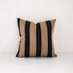 Throw Pillow Made With Sunbrella Berenson Tuxedo 8521-0000