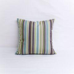 Throw Pillow Made With Sunbrella Brannon Whisper 5621-0000