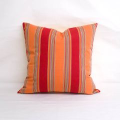 Throw Pillow Made With Sunbrella Bravada Salsa 5601-0000
