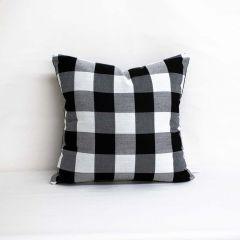 Throw Pillow Made With Sunbrella Cambridge Granite