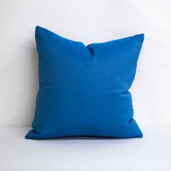 Throw Pillow Made With Sunbrella Canvas Regatta 5493-0000