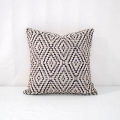 Throw Pillow Made With Sunbrella Capra II Shadow 145601-0001