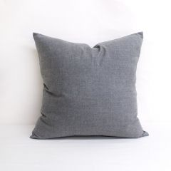 Throw Pillow Made With Sunbrella Cast Slate 40434-0000