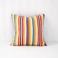 Throw Pillow Made With Sunbrella Castanet Beach  5604-0000