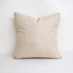 Throw Pillow Made With Sunbrella Chartres Cloud 45864-0081