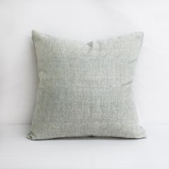 Throw Pillow Made With Sunbrella Chartres Mist 45864-0045