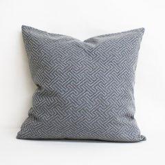 Throw Pillow Made With Sunbrella Crete Stone 44353-0002