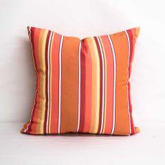 Throw Pillow Made With Sunbrella Dolce Mango 56000-0000