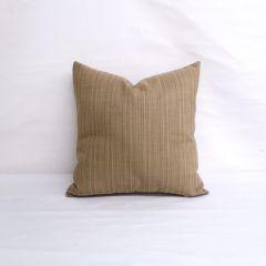 Throw Pillow Made With Sunbrella Dupione Latte 8066-0000