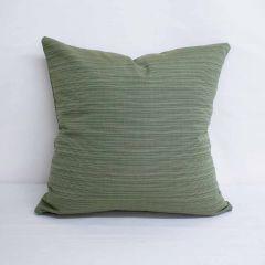 Throw Pillow Made With Sunbrella Dupione Laurel 8015-0000