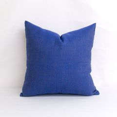 Throw Pillow Made With Sunbrella Echo Midnight 8076-0000