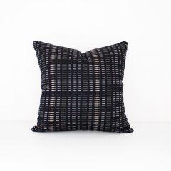 Throw Pillow Made With Sunbrella Esti Onyx 44349-0024