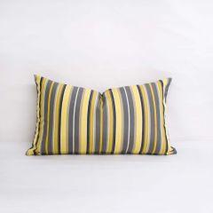 Throw Pillow Made With Sunbrella Foster Metallic 56051-0000