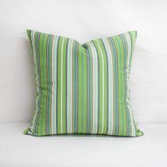 Throw Pillow Made With Sunbrella Foster Surfside 56049-0000