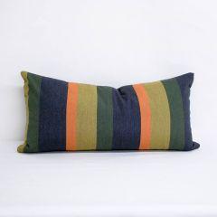 Throw Pillow Made With Sunbrella Gateway Aspen 56104-0000