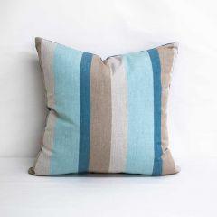 Throw Pillow Made With Sunbrella Gateway Mist 58039-0000