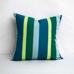 Throw Pillow Made With Sunbrella Gateway Tropic 56101-0000