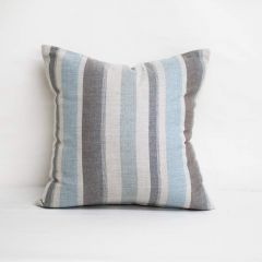 Throw Pillow Made With Sunbrella Glimpse Cloud 40489-0004