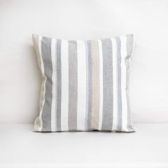 Throw Pillow Made With Sunbrella Glimpse Seagull 40489-0007