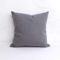 Throw Pillow Made With Sunbrella Renaissance Heritage Granite 18004-0000