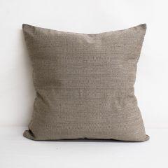 Throw Pillow Made With Sunbrella Linen Stone 8319-0000