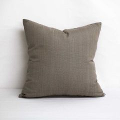 Throw Pillow Made With Sunbrella Linen Taupe 8374-0000