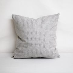 Throw Pillow Made With Sunbrella Lure Pebble 44370-0002