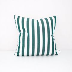 Throw Pillow Made With Sunbrella Mason Forest Green 5630-0000