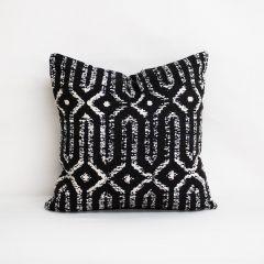 Throw Pillow Made With Sunbrella Mina Classic 47116-0001