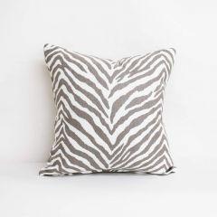 Throw Pillow Made With Sunbrella Namibia Grey 145799-0002