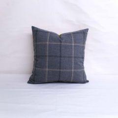 Throw Pillow Made With Sunbrella Paradigm Stone 40484-0001