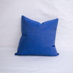 Throw Pillow Made With Sunbrella Dupione Galaxy 8016-0000