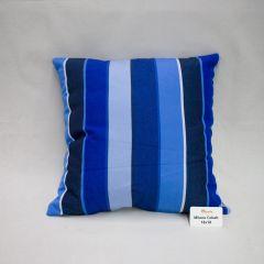 Throw Pillow Made With Sunbrella Milano Cobalt 56080-0000