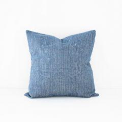 Throw Pillow Made With Sunbrella Platform Indigo 42091-0003
