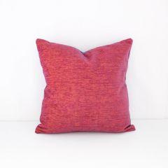 Throw Pillow Made With Sunbrella Platform Sangria 42091-0017