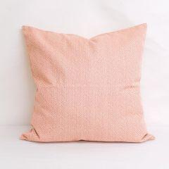Throw Pillow Made With Sunbrella Posh Coral 44157-0016