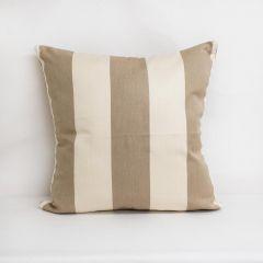 Throw Pillow Made With Sunbrella Regency Sand 5695-0000