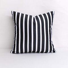 Throw Pillow Made With Sunbrella Shore Classic 58033-0000