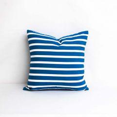 Throw Pillow Made With Sunbrella Shore Regatta 58032-0000